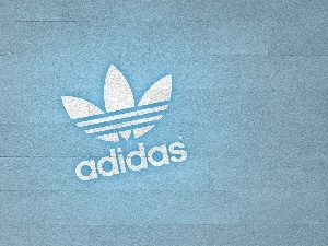 adidas, Light blue, background