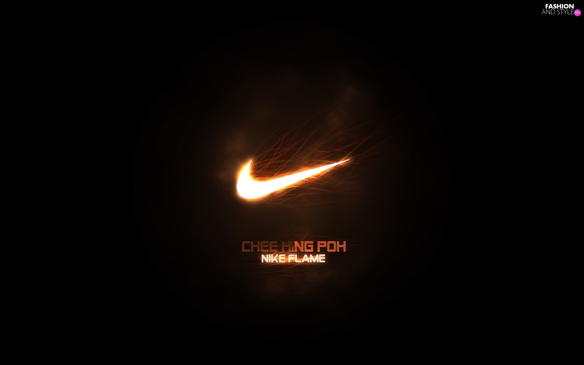 Nike Fire Logo Fashion And Style Wallpapers 1920x1200
