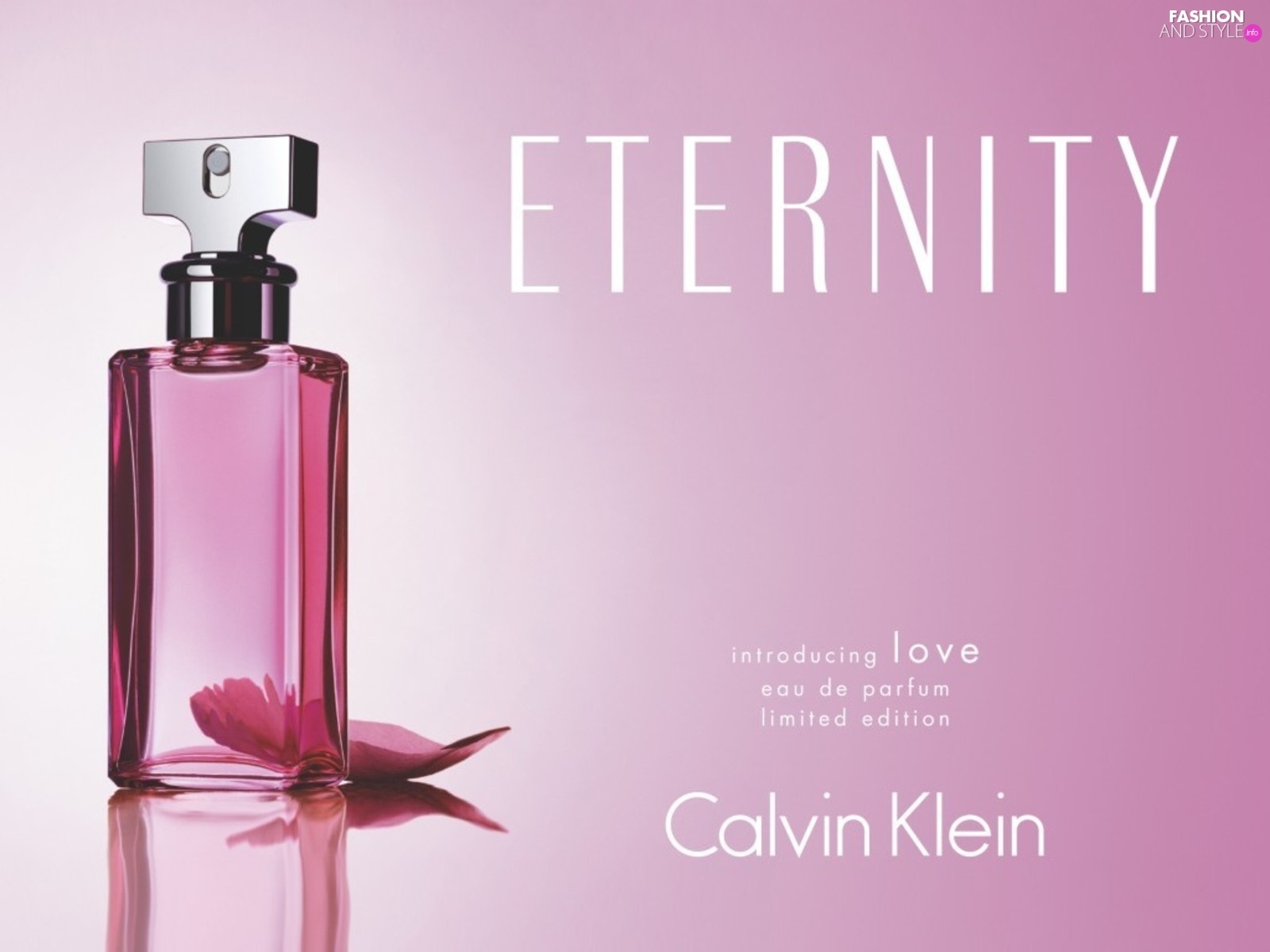 Eternity, perfume, woman, Calvin Klein